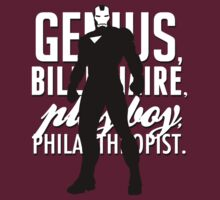 Genius, Billionaire, Playboy, Philanthropist.  by Avia Asner