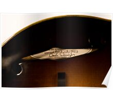 The Loar According to Derrington - Charlie Derrington, Acoustic Engineer Poster