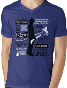 Sam Winchester Quotes Mens V-Neck T-Shirt