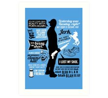 Sam Winchester Quotes Art Print