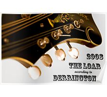 2008 - The Loar According to Derrington - Cover Poster