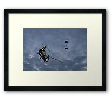 Chinooks - Evening Lift Framed Print