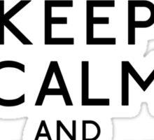 Keep Calm and Book 'Em, Danno Sticker