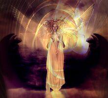 Rose Moxon and Helene Kippert - Solstice Angel 2 by helene