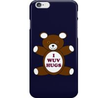 Supernatural 'I Wuv Hugs' iPhone Case/Skin