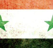 Syria - Vintage Sticker