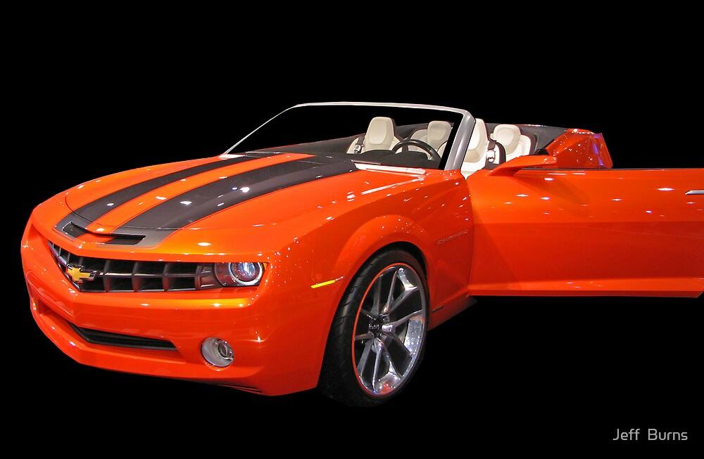 Orange Camaro II by Jeff  Burns