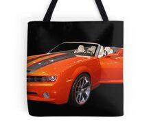 Orange Camaro II Tote Bag