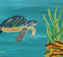 The turtle - Underwater series 1 by SlavicaB
