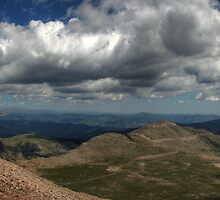 Mt Evans Panorama 1 by Scott Ingram
