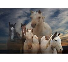 Ghost riders in the sky!! Photographic Print