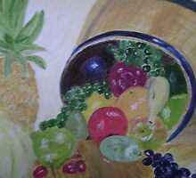 Fruit Barrel by Debra Lohrere