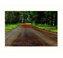 """""""There is Light at the End of the Road"""" Art Print"""