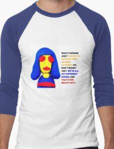Joey Ramone, Noel Fielding's Luxury Comedy Men's Baseball ¾ T-Shirt