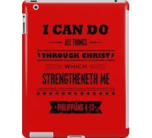 Philippians 4:13 iPad Case/Skin