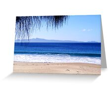 Looking out to Freycinet National Park, Tasmania Greeting Card
