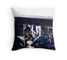 Ice Drips Throw Pillow