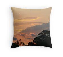 Sunset at Barden Ridge  Throw Pillow