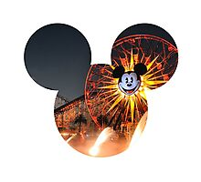 World of Color Mickey 2 Photographic Print