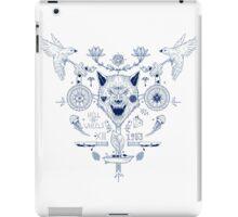 wolf tatoo iPad Case/Skin