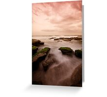 Bar Beach Rock Platform 7 Greeting Card
