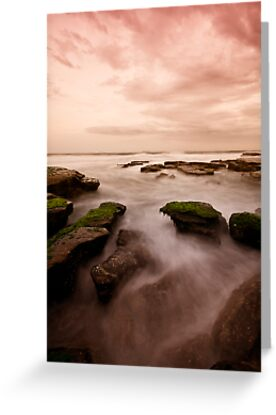 Bar Beach Rock Platform 7 by Mark Snelson