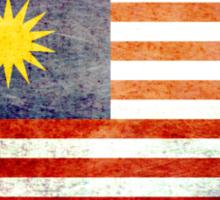 Malaysia - Vintage Sticker