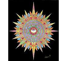 3rd Eye Mandala Photographic Print