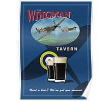 The Wingman Tavern Poster