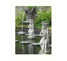 Water Palace Art Print