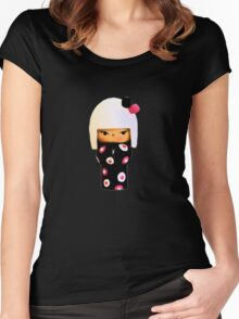Little Japanese Doll Women's Fitted Scoop T-Shirt