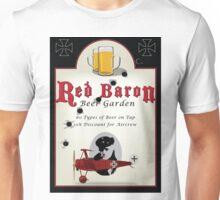 Red Baron Beer Garden Unisex T-Shirt