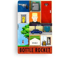 Bottle Rocket Lovely Soiree Poster 2013 Canvas Print