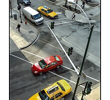 Delaware & Rush Crosswalk by Harvey Tillis