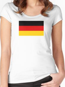 Germany - Standard Women's Fitted Scoop T-Shirt