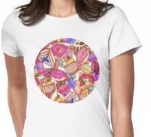 Sugar, Spice & All Things Nice Womens Fitted T-Shirt