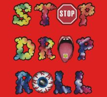 Stop, drop and roll Rainbow Kids Clothes
