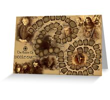 Game of the Goose, Lord of the rings Greeting Card