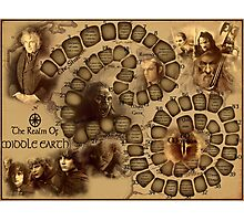 Game of the Goose, Lord of the rings Photographic Print