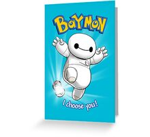 Baymon Greeting Card