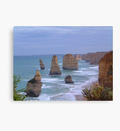 Survivors in Stone - Great Ocean Road, Victoria Australia Canvas Print
