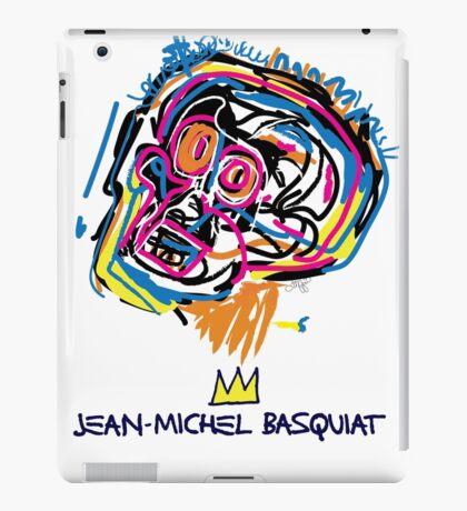 Jean Michel Basquiat Head iPad Case/Skin