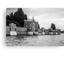 Venice Isola di San Michele Canvas Print