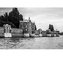 Venice Isola di San Michele Photographic Print