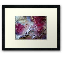 Rock Art I Framed Print