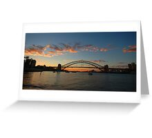 Wisps Of Day- Sydney Harbour, Sydney Australia Greeting Card