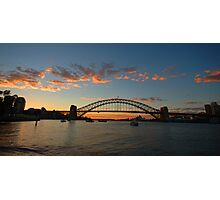 Wisps Of Day- Sydney Harbour, Sydney Australia Photographic Print