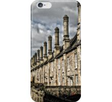 Row of houses iPhone Case/Skin