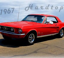 1967 Ford Mustang Hardtop by Betty Northcutt