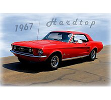 1967 Ford Mustang Hardtop Photographic Print